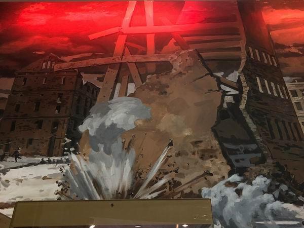 В огне Сталинграда